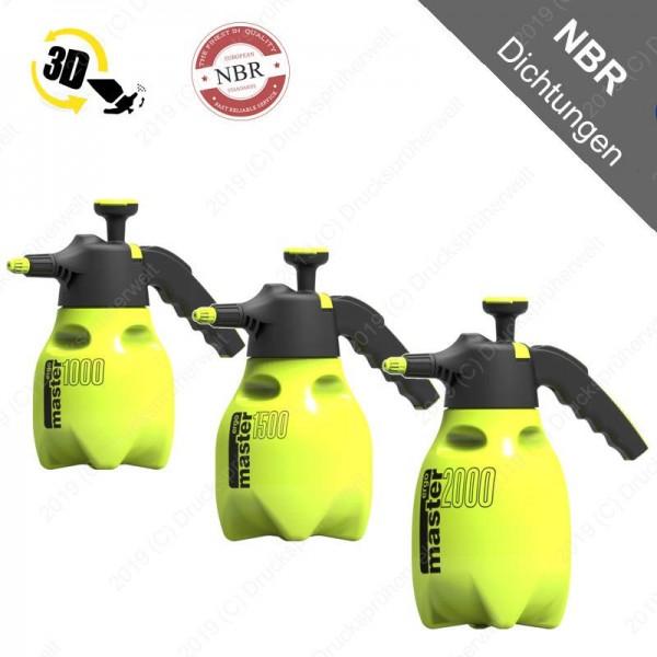 Ergo NBR Handsprüher,bieten wir als 1 Liter oder 1,5 Liter Variante an