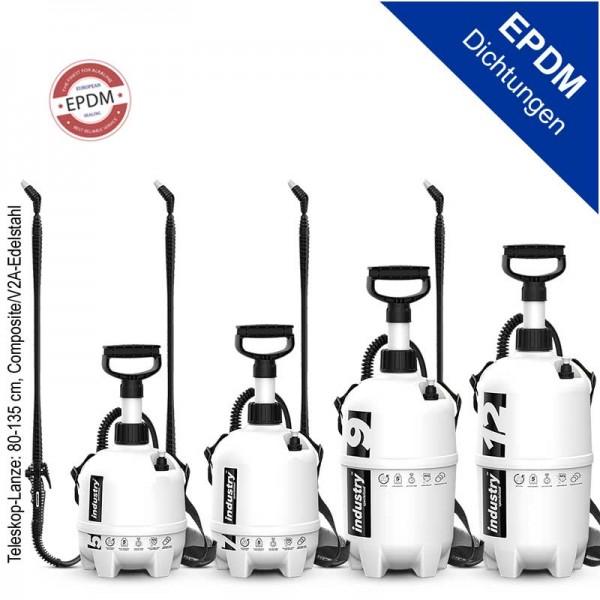 Industry EPDM Drucksprüher erhältlich als 5l bis 12l Tankgröße, alkalisch beständig, 4bar