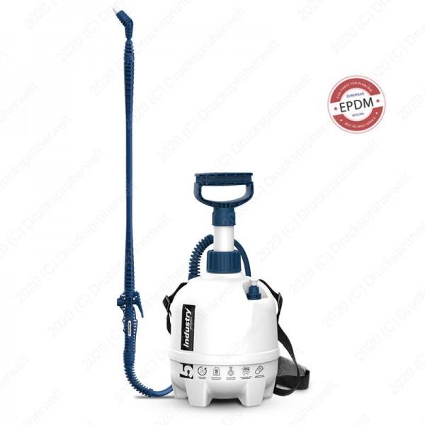 P5se Drucksprüher 5 Liter mit EPDM Dichtungen, Alkalien geeignet