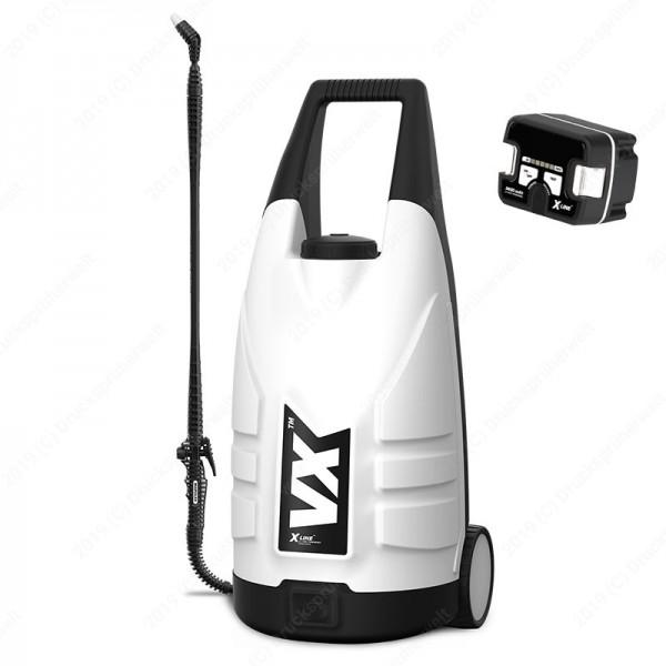 VA20 alka AKKU Drucksprüher Trolley mit 20 Liter fahrbar